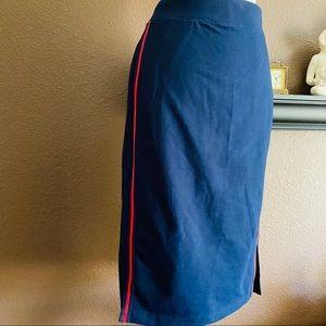 NWT Ralph Lauren navy skirt